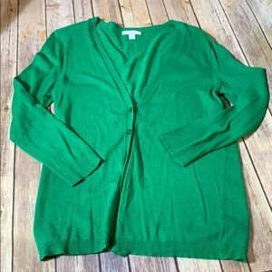 New York & Company Sweaters - 🎉SALE!!! Emerald Green NY&CO Cardigan sweater - M